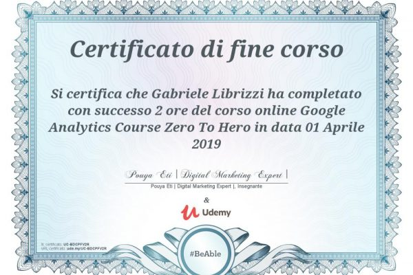 Google Analytics Course Zero To Hero